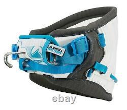 BRAND NEW $199 Liquid Force Supreme Harness XL Kiteboarding 36 38 White Blue