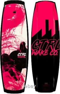 CTRL Studio Wakeboard 132cm + Liquid Force Alpha Bindings Womens Sz 6-10