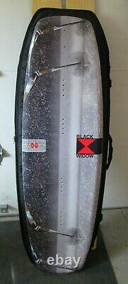 Hydroslide 2003 Wakeboard &padded liquid force carrying case BlackWidow Design