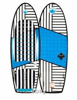 Liquid Force Happy Pill Wake Surf 2020 White Blue 5.4