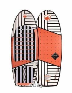 Liquid Force Happy Pill Wake Surf 2020 White Orange 4.6