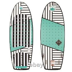 Liquid Force Happy Pill Wake Surf 2020 White Teal 4.1