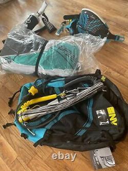 Liquid Force Kite, Liquid Force Harness, Cabrinha Control Bar, WMFG pump +
