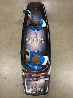Liquid Force Wakesurf Wakeboard Wake Board Squirt 32 132.1x41.8 Binding Boots