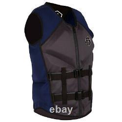 Liquid Force Watson CGA Vest Men's X-Large / Grey/Navy