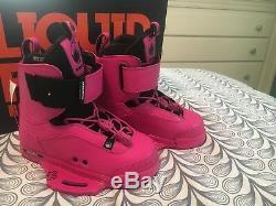 NWT Hot Pink Liquid Force Boots