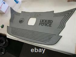Axis Aquatrac A24 Nage À L'étape De La Force Liquide Mat Gris / Bateau Autocollant Noir