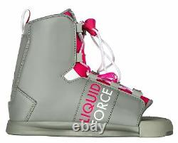 Ctrl Vogue Wakeboard 134cm + Liquid Force Alpha Reliures Femmes Sz 6-10