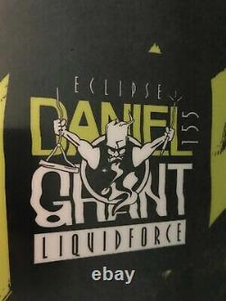 Eclipse De Force Liquide 2019 155 Daniel Grant Pro, Nouveau, Câble, Parc, Wakeboard, Lf