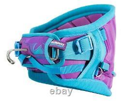 Flambant Neuf $199 Liquid Force Supreme Harness Purple Size L 34-36 Kiteboarding