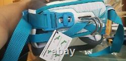 Flambant Neuf $199 Liquid Force Supreme Harness XL Kiteboarding 36 38 White Blue