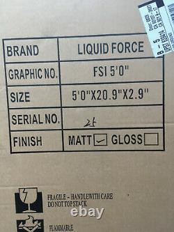Foil Board Liquid Force 2020. Nouveau