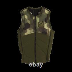Force Liquide Z-cardigan Wake Vest 2017 Army Green Taille L
