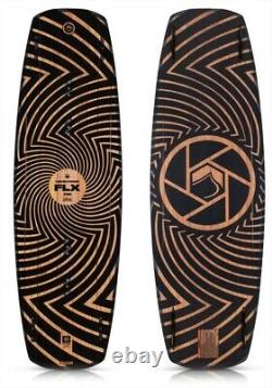 Liquid Force Flx Wood Core, Park Cable Wakeboard, Tailles Multiples, Brun. 72427