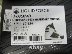 Liquid Force Form 4d Bindings 12-13 Mens 2185219 Flambant Neuf (loz)