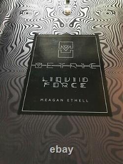 Liquid Force Metric 136 2019 Modèle Pro, Wakeboard De Câble, Park, Lf, Ethell Design