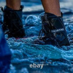 Liquid Force Transit Reliures Pour Wakeboard / Wakeboarding Taille 8 -10
