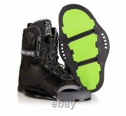 Liquid Force Transit Wakeboard Bindings Boots USA Taille 8-10 Nouveau Dans La Boîte Mint