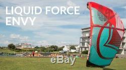 Nouveau 2017 Liquid Force Cerf-volant Envy Et 10,5 M Sac Freeride